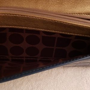 kate spade Accessories - Kate spade dark turquoise wallet used